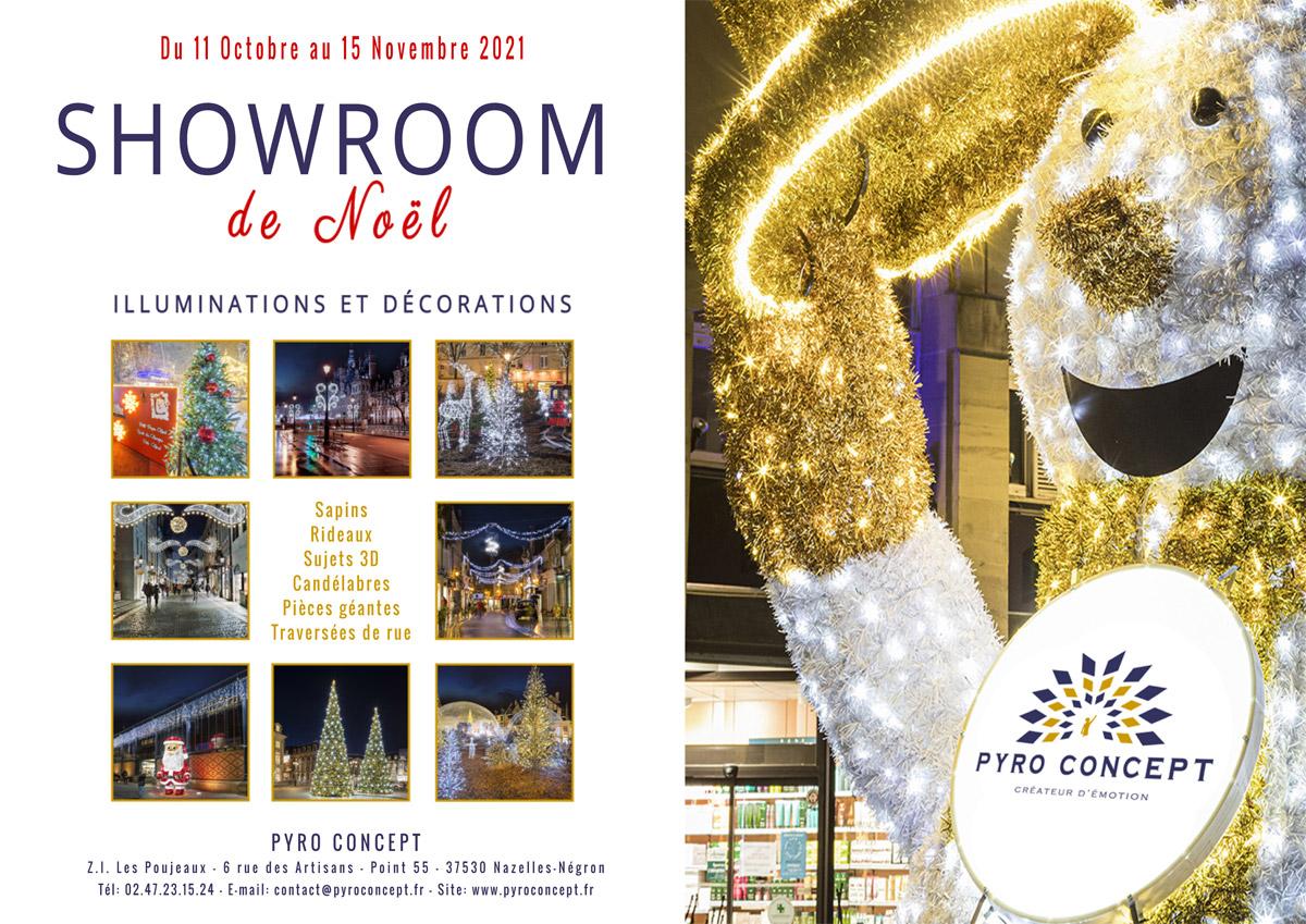 Showroom Noël Pyro Concept