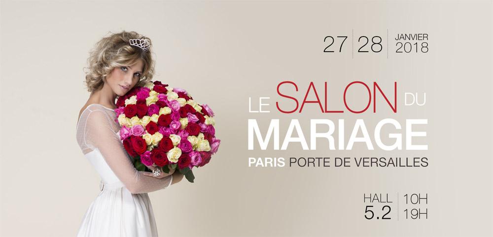 Salon du mariage à Paris - Janvier 2018