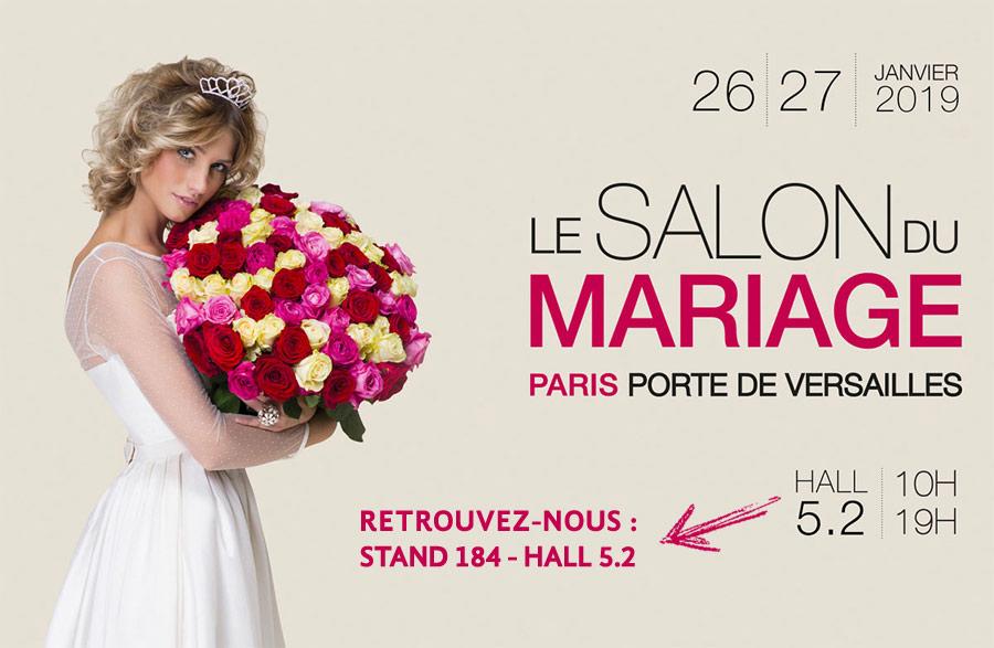 Salon du Mariage de Paris - janvier 2019