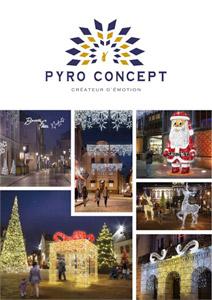 Brochure de Noël Pyro Concept