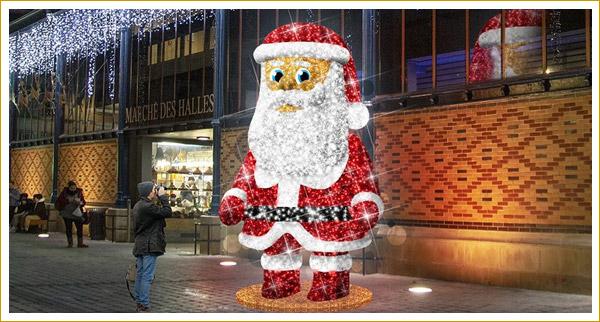 Décors de Noël pour les communes