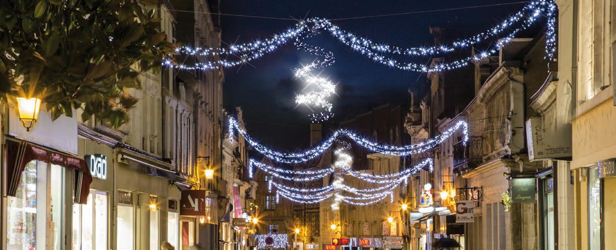 Illumination de Noel commune